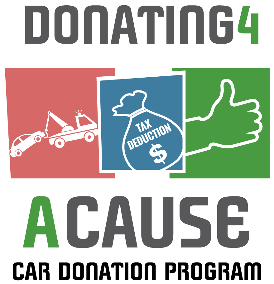 Donating 4 A Cause Logo